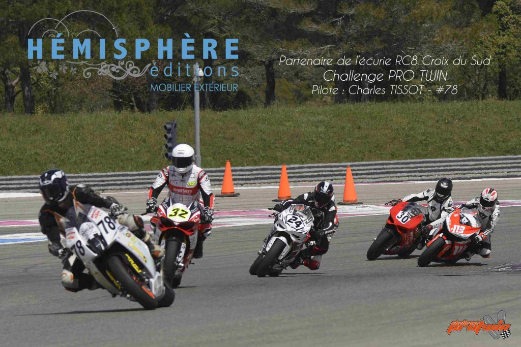 Hemisphere Edition Partenaire Moto RC8