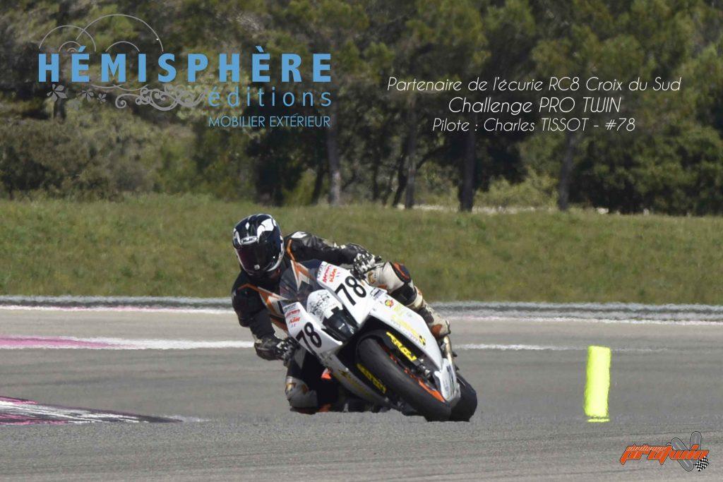 Hemisphere Edition Sponsoring Moto RC8